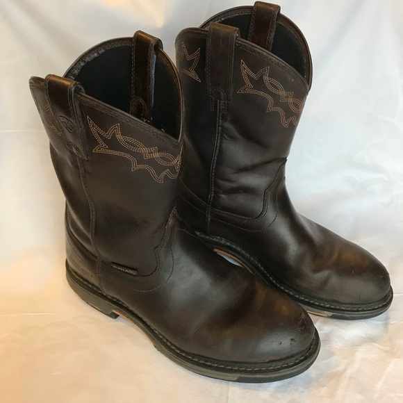 0cb46727673 ARIAT men's work boots, western boots